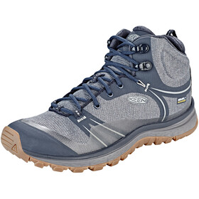 Keen Terradora WP Mid Shoes Women Blue Nights/Blue Mirage